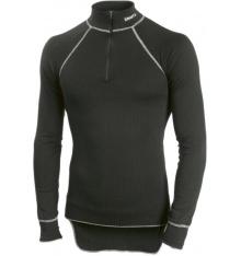 CRAFT sous-vêtement manches longues col zippé noir