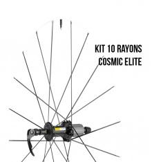 MAVIC kit 10 rayons route Cosmic Elite AVT/ORL 285mm noir