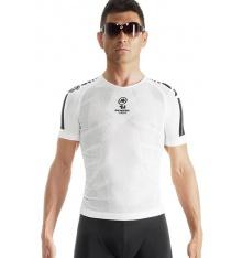 ASSOS maillot sous-vêtement SS skinFoil été S7 blanc
