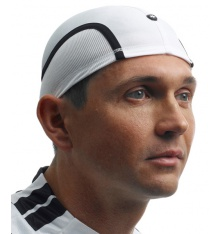 ASSOS RoboFoil white helmet cap