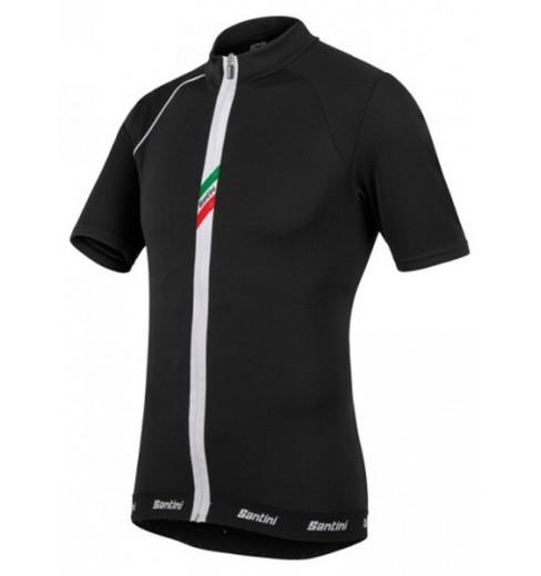SANTINI maillot cycliste Zeit noir 2015