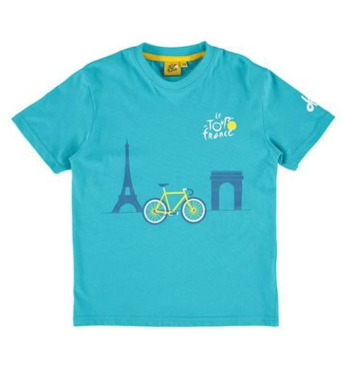 Tour de France Monuments Graphic kids' T-Shirt 2015