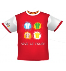 TOUR DE FRANCE t-shirt enfant Graphic Maillots 2015