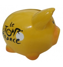 TOUR DE FRANCE yellow piggy-bank
