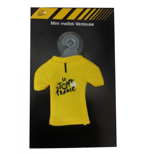 TOUR DE FRANCE ventouse mini-maillot jaune