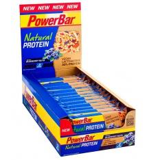 Boite de barres POWERBAR Natural Protein (24x40gr)
