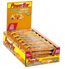 Boite de barres POWERBAR Natural Energy Fruit& Nut (24x40gr)