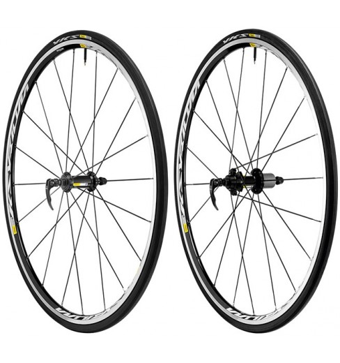 MAVIC Ksyrium Equipe S pair of black wheels (23-25)