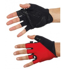 ASSOS S7 Red summer gloves