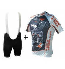 ALPE D'HUEZ cycling kit with Col du Galibier jersey