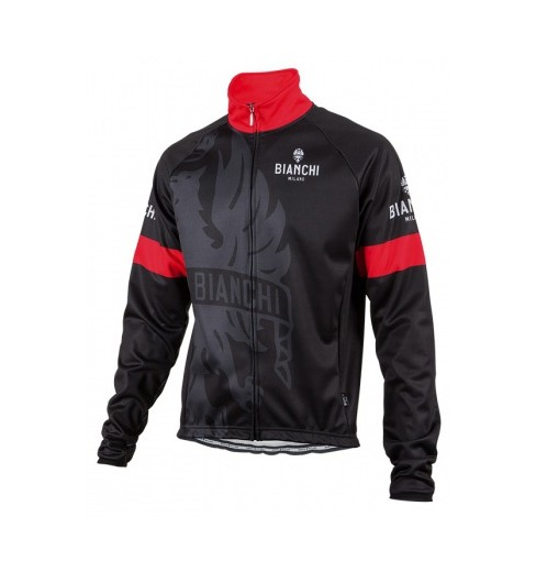 BIANCHI MILANO Treviolo black red winter jacket 2016