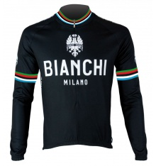 BIANCHI MILANO Leggenda black long sleeves jersey 2018
