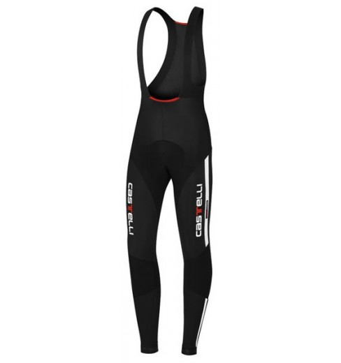 CASTELLI Sorpasso black white bibtights 2016