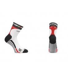 NORTHWAVE Chaussettes hiver STEEL BLANC ROUGE Winter