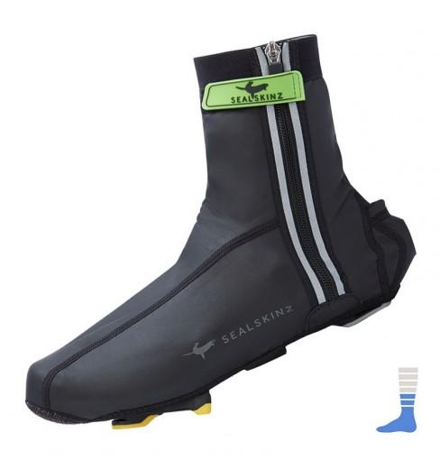 SEALSKINZ couvre-chaussures imperméables légers lumineux
