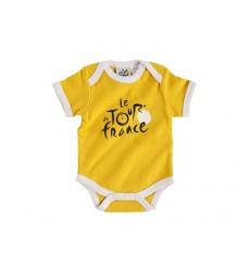 TOUR DE FRANCE Body bébé officiel jaune