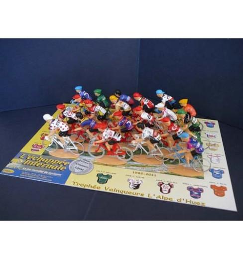 L'échappée Infernale Alpe d'Huez Mythical Trophy 20 figurines