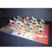 L'échappée Infernale 20 cyclistes miniatures Trophée Mythique Tour de France