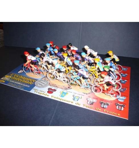 L'échappée Infernale Tour de France Mythical Trophy 20 figurines