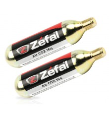 cartridge CO2 Zefal 16g X2