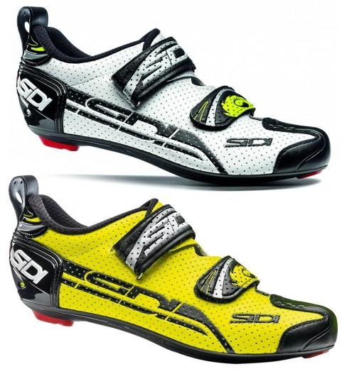 SIDI men's T4 Carbon Air Triathlon shoes 2016