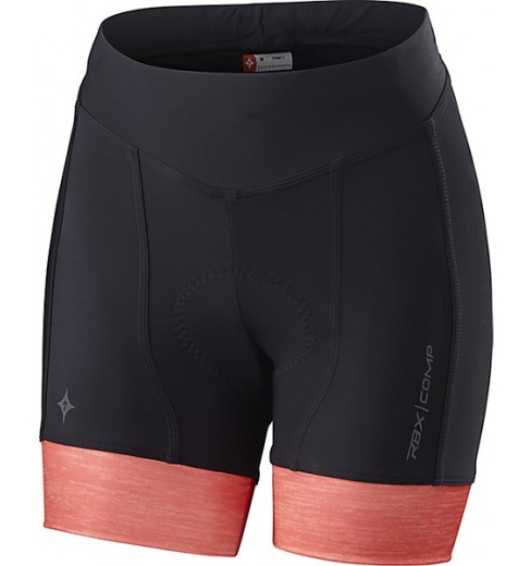 SPECIALIZED cuissard court femme RBX Comp Shorty noir corail 2016