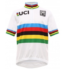 SANTINI UCI World Champion Road kids jersey