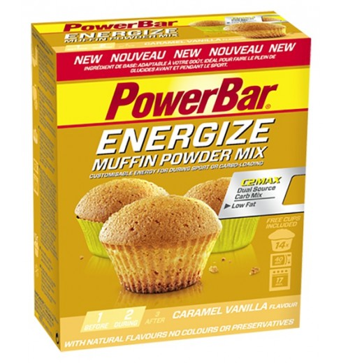 POWERBAR Muffin powder mix with C2MAX