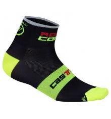 CASTELLI ROSSO CORSA 6 white socks