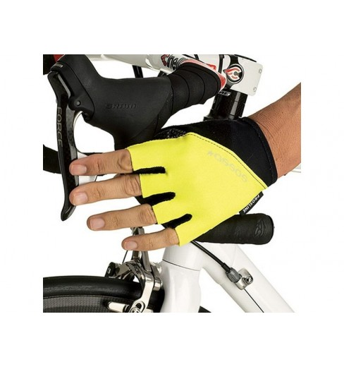 ASSOS Yellow summer gloves CYC