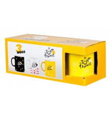 TOUR DE FRANCE set 3 mugs 2016