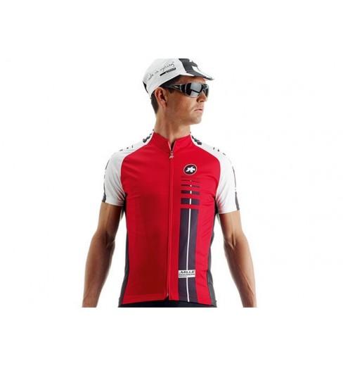 Rojo ASSOS SS Mille jersey