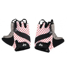 TOUR DE FRANCE Polka dots kids cycling gloves
