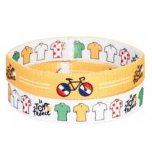 Lot de 2 bracelets Le Tour de France 2016