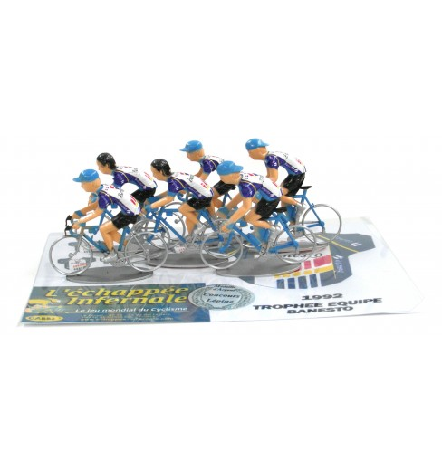 L'échappée Infernale Trophy Team retro 6 toy cyclists