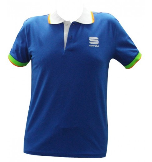 SPORTFUL polo bleu 2016