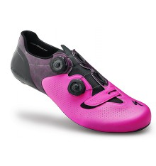 SPECIALIZED S-Works 6 neon pink road shoes - limited edtion