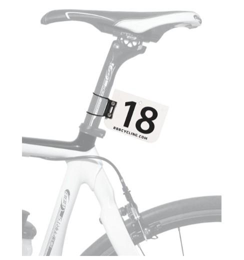 bbb fixation pour plaque de cadre numberfix cycles et sports. Black Bedroom Furniture Sets. Home Design Ideas