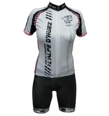 ALPE D'HUEZ pink cycling set