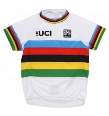 SANTINI maillot bébé UCI Champion du monde 2017