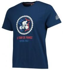 TOUR DE FRANCE Graphic navy t-shirt 2017