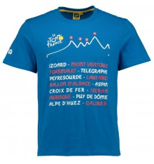TOUR DE FRANCE Graphic blue t-shirt 2017