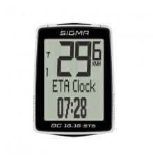 SIGMA compteur vélo sans fil BC 16.16 STS