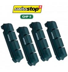 Patin SHIMANO de frein Swisstop Flash vert