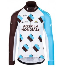 AG2R LA MONDIALE winter cycling jacket 2017
