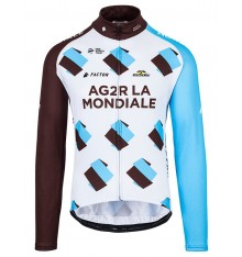 AG2R LA MONDIALE long sleeves jersey 2017