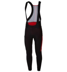 CASTELLI Sorpasso black red bibtights 2018