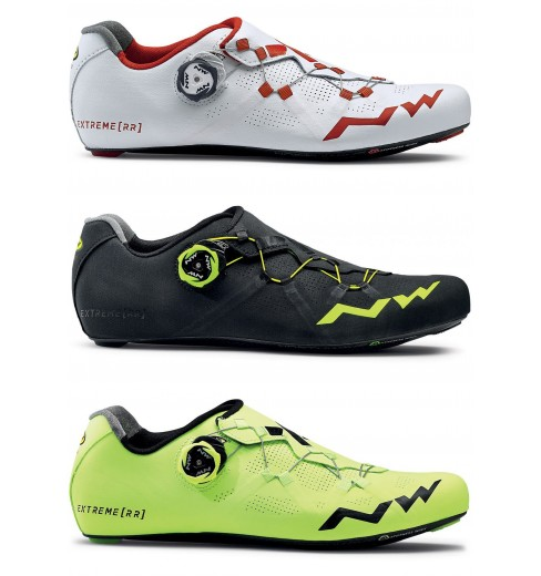 Northwave Cycling Womens Shoes SIze 6 (23 CM) Black Yellor Red