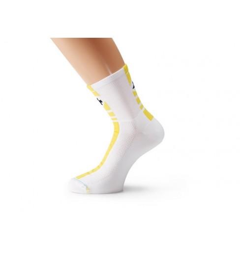 ASSOS Socquettes Mille Regular jaune