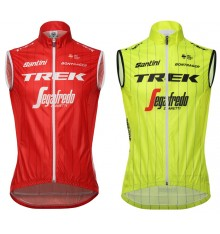 TREK SEGAFREDO Team Windshell vest 2018
